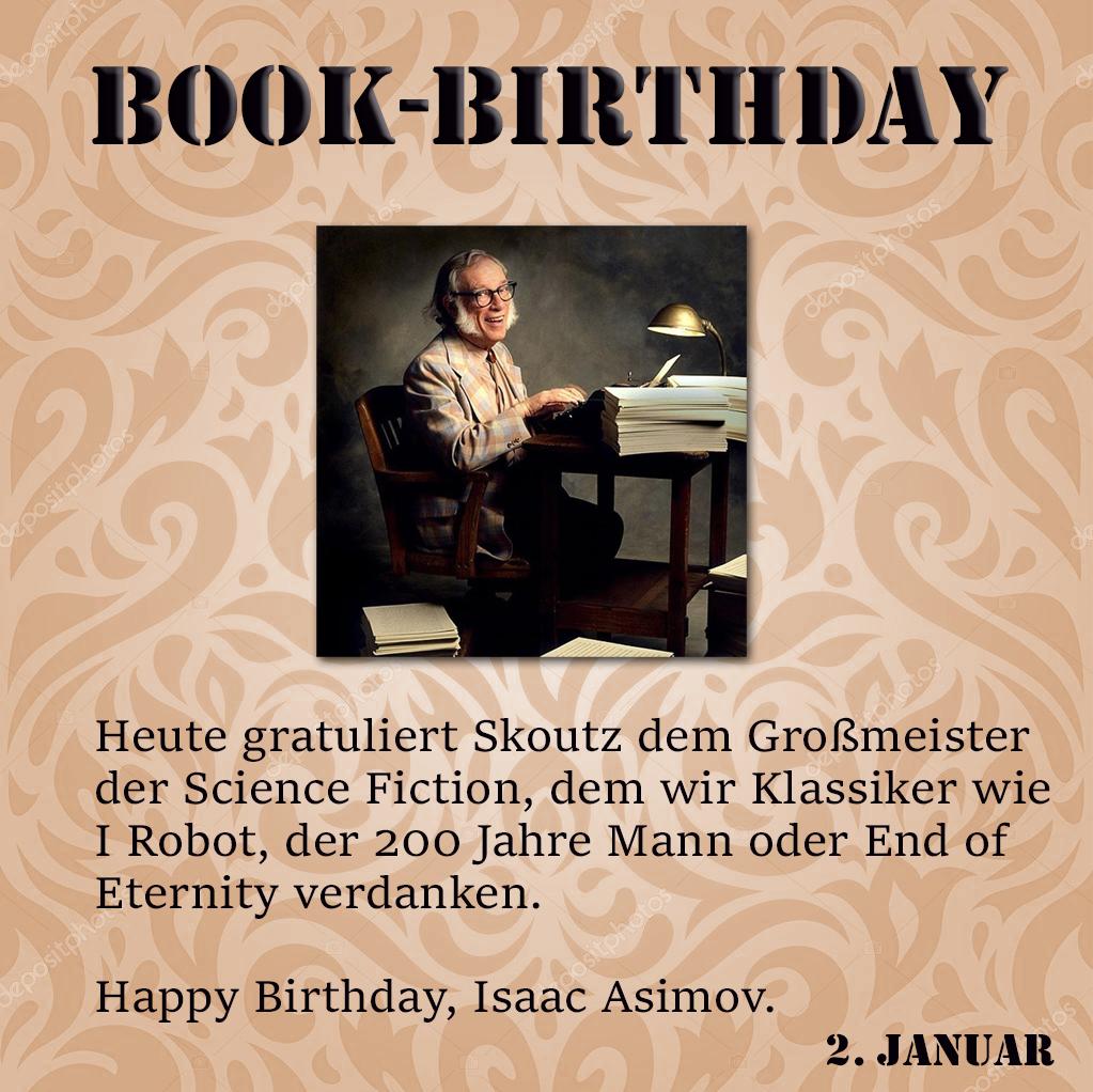 Buchjahr - 01.02. - Asimov