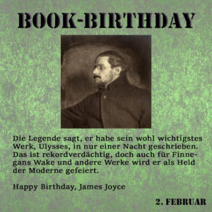 BookBirthday James Joyce