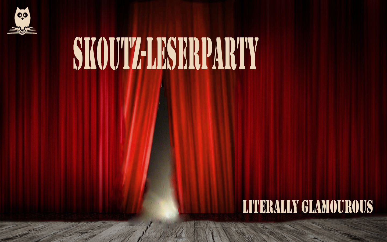Skoutz Leserparty literally glamourous