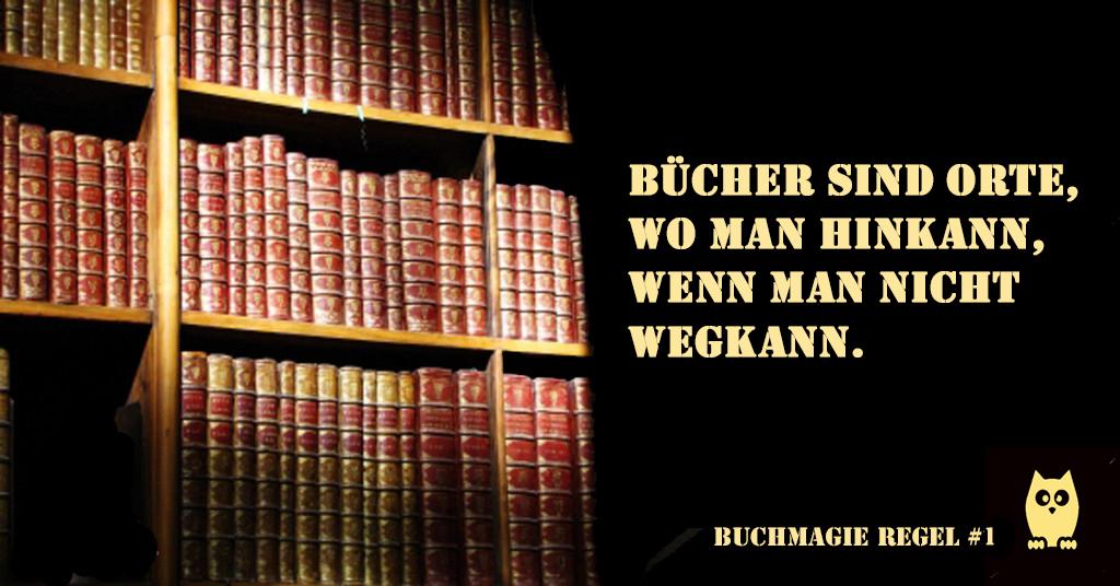 Skoutz-Buchspruch #1 Hin und weg