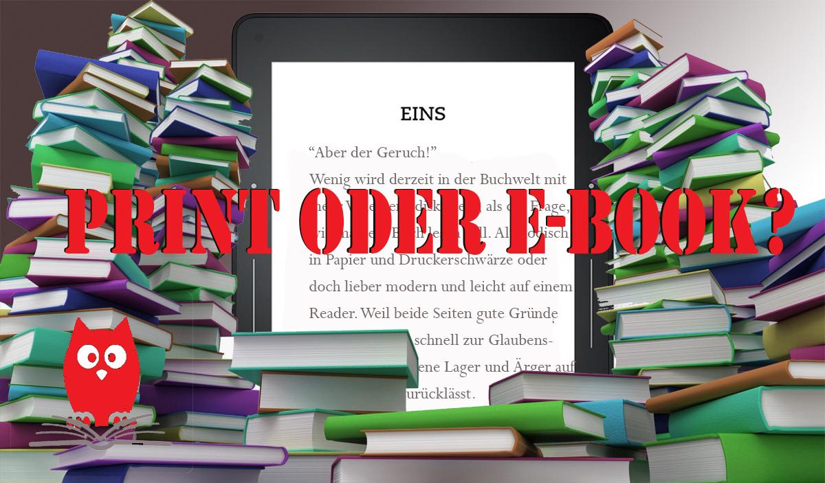 Print oder EBook,