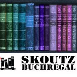 Skoutz-Buchregal #40