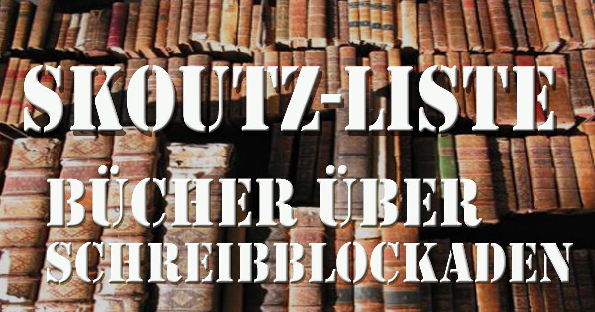 Bücher über Schreibblockaden