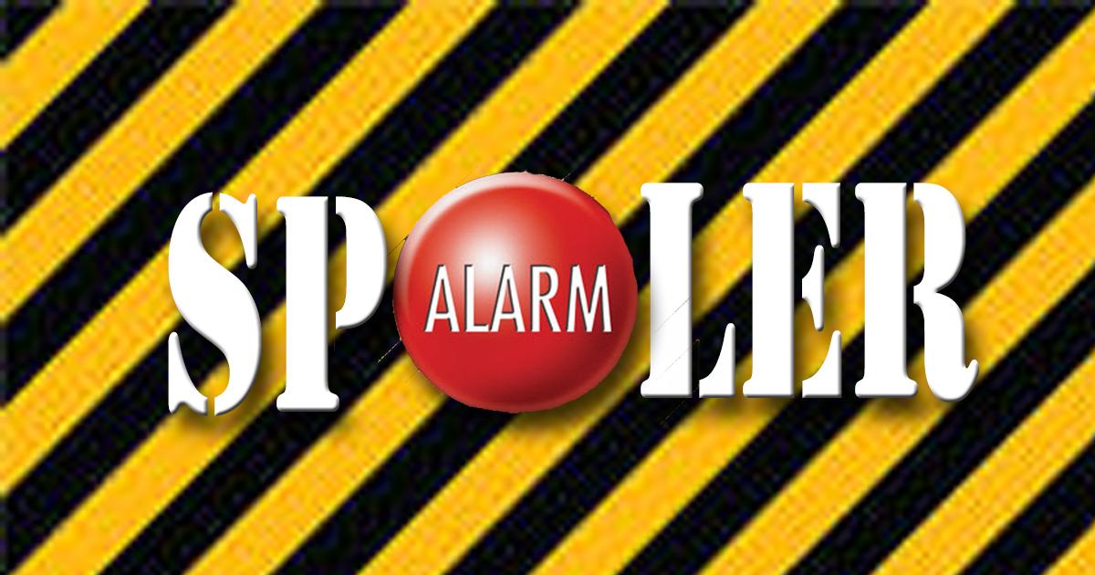 Spoiler Alarm