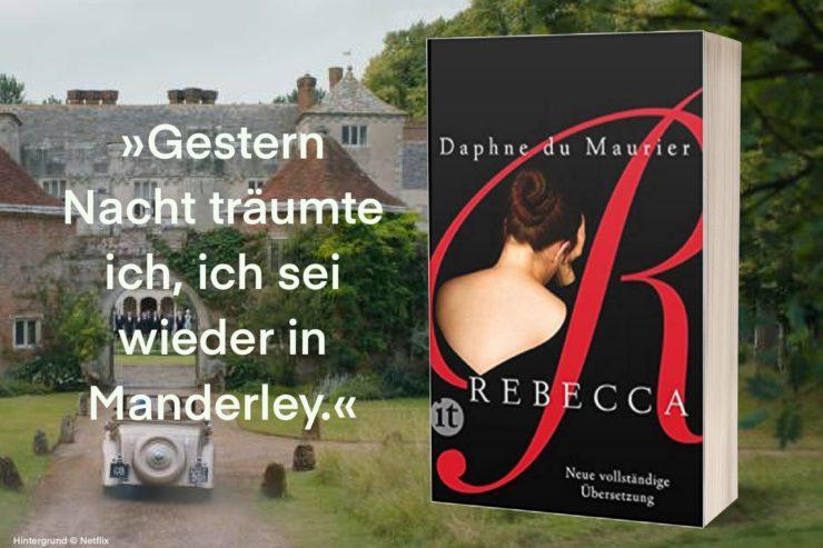 Titelbild Rebecca von Daphne du Maurier