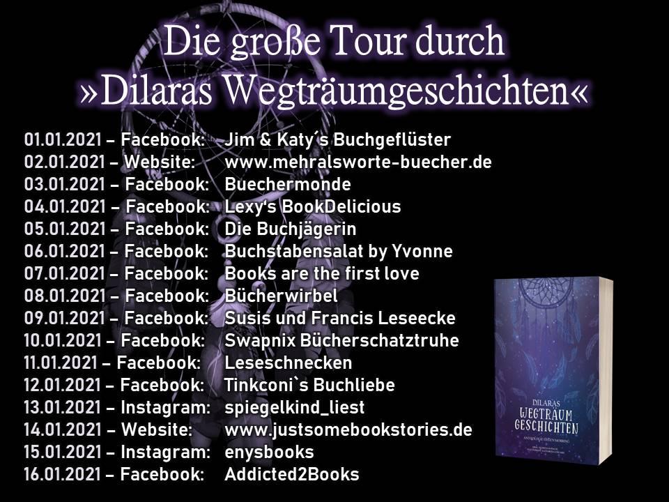 Blogtour Dilaras Wegträumgeschichten
