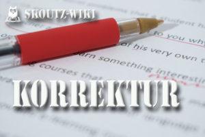 Skoutz-Wiki Korrektur Abzug
