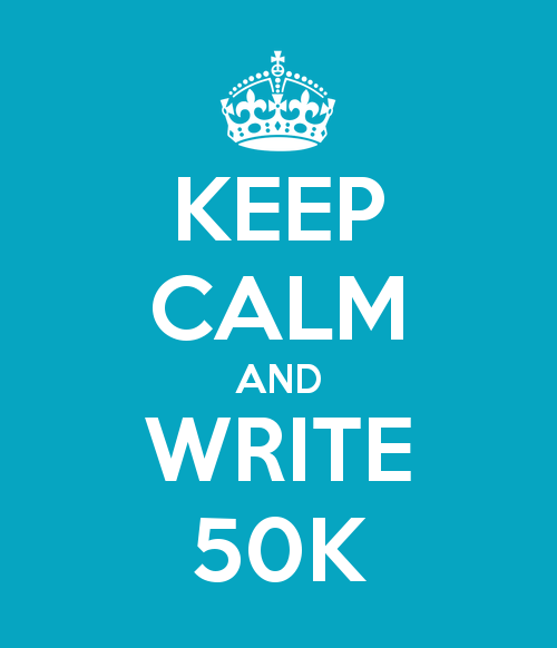 NaNoWriMo Keep Calm