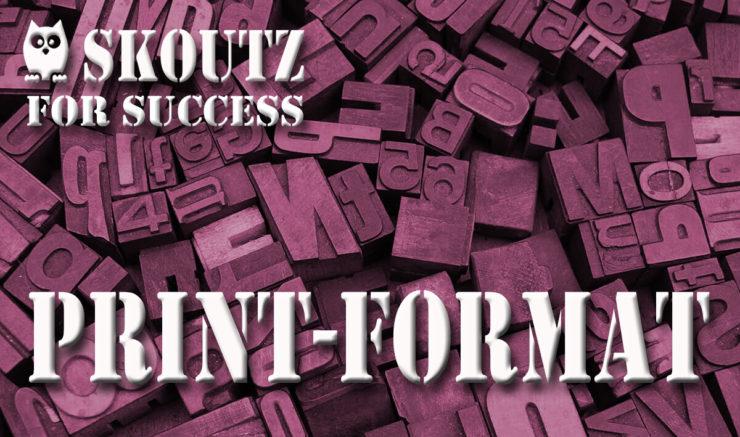 Print-Format