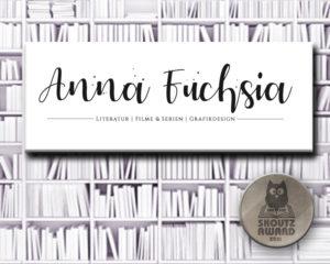 Anna Fuchsia - Shortlist Buchblog 2021 Skoutz-Award