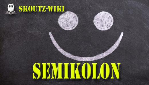 SemikolonStrichpunkt