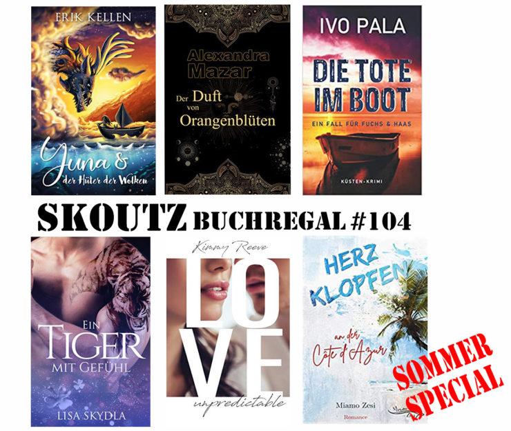 Skoutz-Buchregal Nr. 104