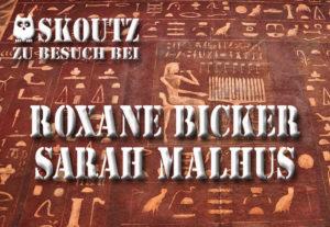 Roxane Bicker u. Sarah Malhus